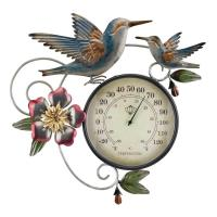 Thermometer Metallic Wall Décor-REGAL13113