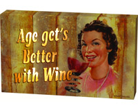 Age Gets Better LED Lighted Box Sign-REP2385