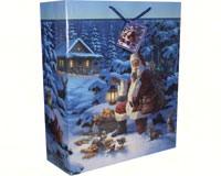 Christmas Theme X-Large Gift Bag-REP720