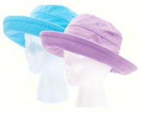 Casual Bucket Hat 2 pack (1 Purple, 1 Teal)-SLOG4403PLTL