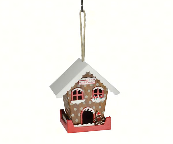 Candy Cane Lane Bird House
