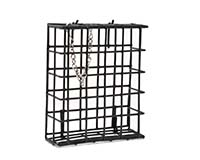 Black Single Suet Basket-SE101