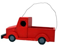 Red Truck Birdhouse-SE1011