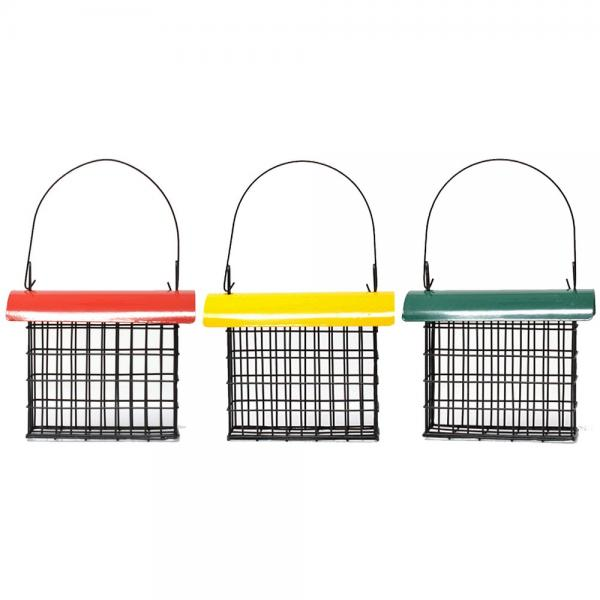 Deluxe Suet Cage with Color Metal Roof SE103