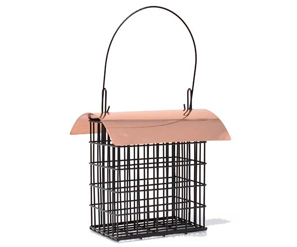 Deluxe Double Suet Cage withCopper Roof SE105