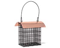 Deluxe Double Suet Cage withCopper Roof-SE105