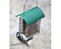 Deluxe Double Suet Cage withGreen Metal Roof-SE106