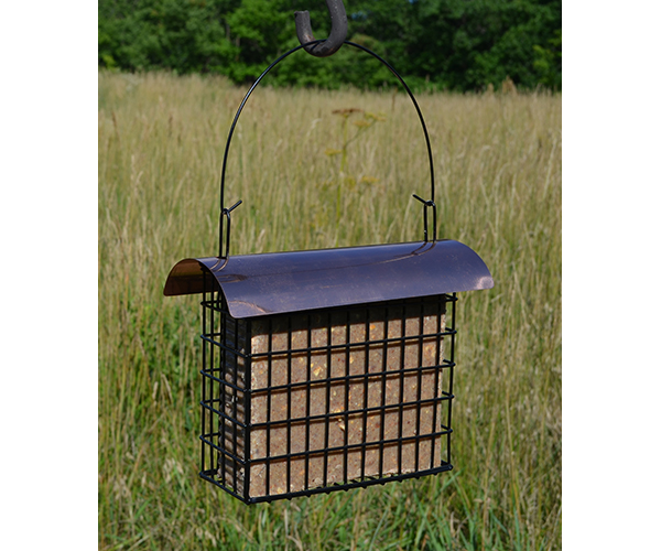 Large Cake Suet Cage withCopper Top SE123
