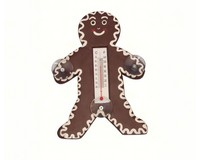 Small Xmas Thermometer-Gingerbread Man SE2170459
