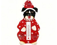 Small Xmas Thermometer- Xmas Mutt/clothes SE2170464