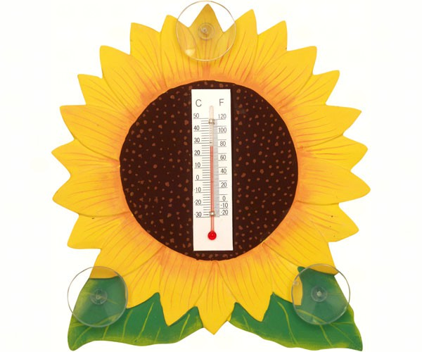 Sunflower Small Window Thermometer SE2170623'