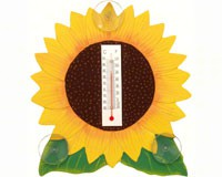 Sunflower Small Window Thermometer SE2170623