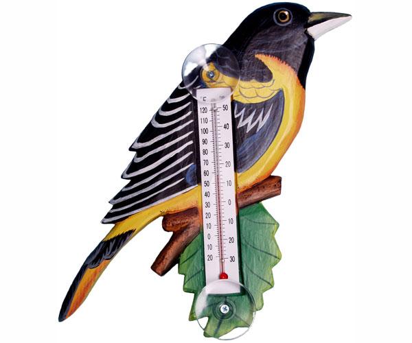 Thermometer Small Bird Baltimore Oriole