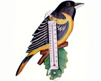 Thermometer Small Bird Baltimore Oriole-SE2170722