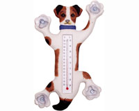 Climbing Jack Russell Small Window Thermometer SE2171001