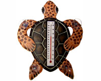 Brown Turtle Small Window Thermometer-SE2172301