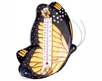 Monarch Butterfly Small Window Thermometer-SE2172501