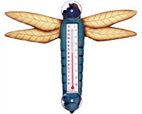Blue Dragonfly Small Window Thermometer SE2172508
