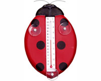 Ladybug Small Window Thermometer SE2172510