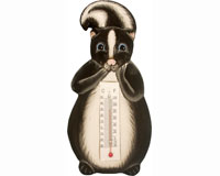 Thermometer Small Skunk SE2174009