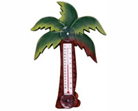 Palm Tree Small Window Thermometer-SE2176001