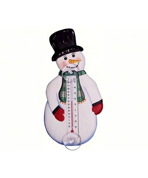 Small Thermometer-Snowman