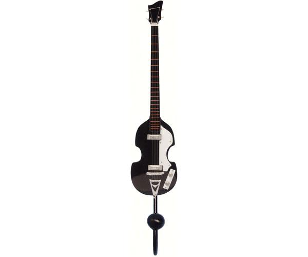 Black 4-String Bass Guitar Single Wallhook SE3153941