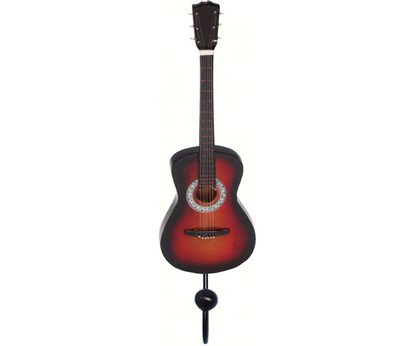 Orange & Black Spanish Guitar Single Wallhook
