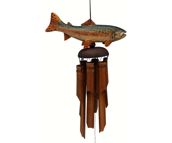 Trout Bamboo Windchime SE3361018