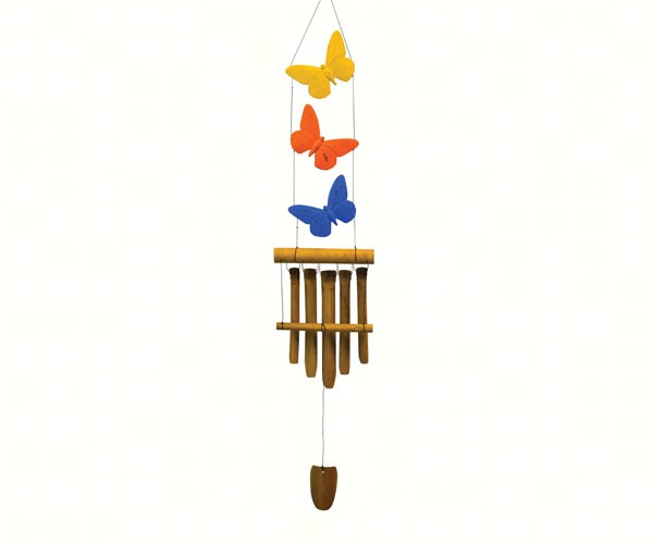 Butterfly Trio Bamboo Chime SE3361029