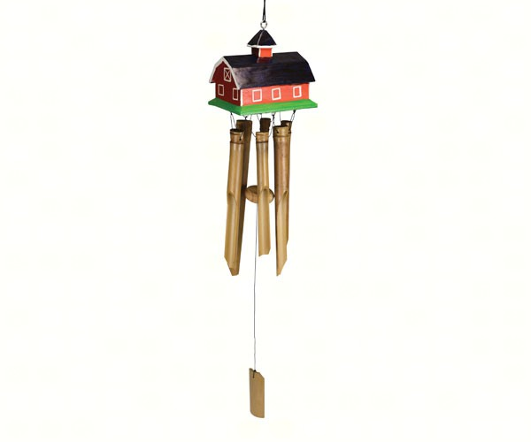 Red Barn Bamboo Chime SE3361034