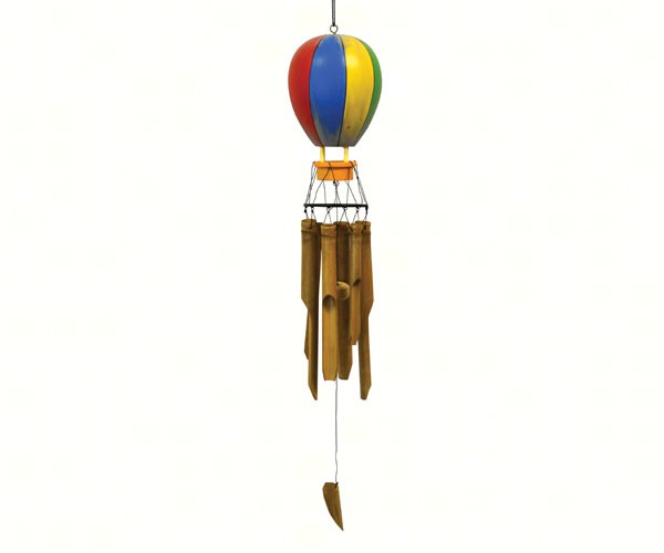 Hot Air Balloon Bamboo Chime SE3361037