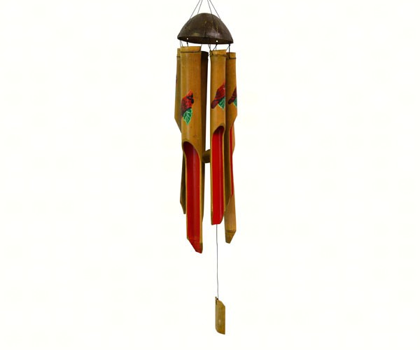 Cardinal Medium Simple Bamboo Chime SE3361046