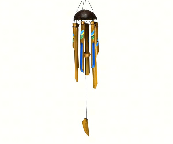 Bluebird Small Simple Bamboo Chime SE3361048