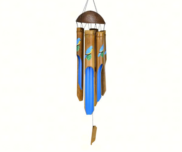 Bluebird Large Simple Bamboo Chime SE3361050