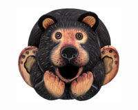 Black Bear Gord-O Bird House-SE3880057