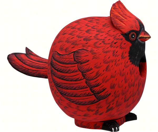 Cardinal Gord-O Bird House