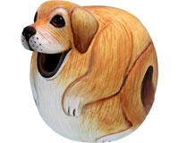 Yellow Lab Gord-O Bird House-SE3880069