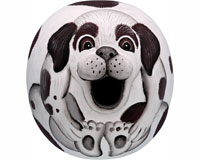 Brown & White Mutt Gord-O Bird House-SE3880071