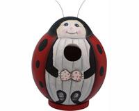 Ladybug Gord-O Bird House SE3880081