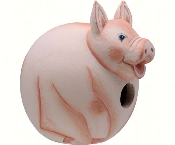 Pig Gord-O Bird House