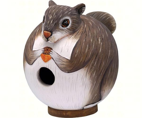 Squirrel Gord-O Bird House