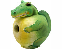 Alligator Gord-O Bird House-SE3880095