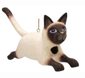 Leaping Siamese Cat Bird House SE3880190