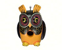 Fall Colors Owl Gord-O Bird House SE3880215