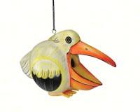 White Pelican Gord-O Bird House SE3880216