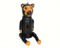 Black Bear Dangle Leg Bird House SE3880218