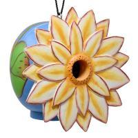 Lotus Flower Gord-O Bird House-SE3880223