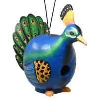 Peacock Gord-O Bird House-SE3880228