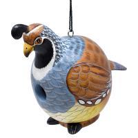Quail Gord-O Birdhouse-SE3880229